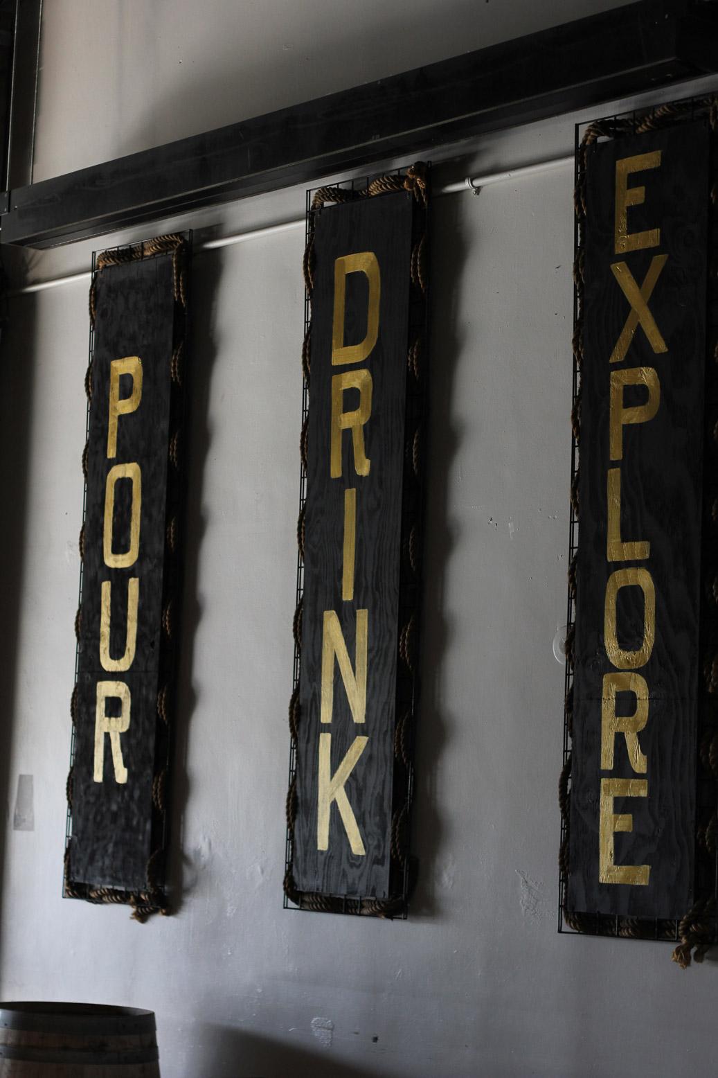 32 North San Diego CA Brewery Signage